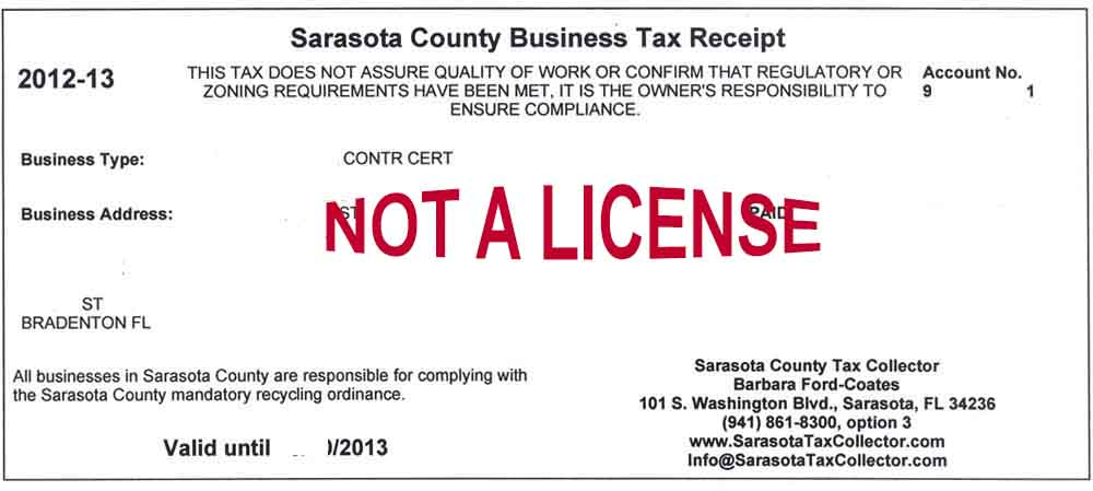 Unlicensed Work | Fspa